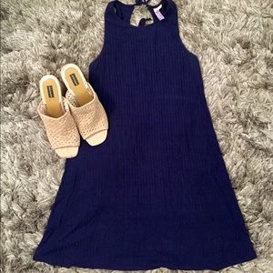 Alya Navy Cutout Dress